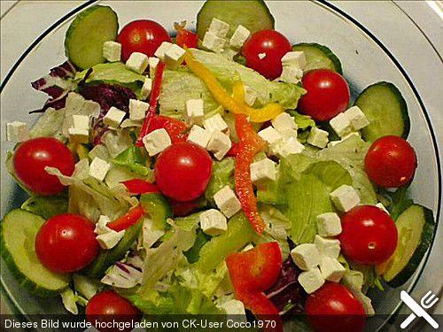 Griechischer Salat von flexiblebird | Chefkoch