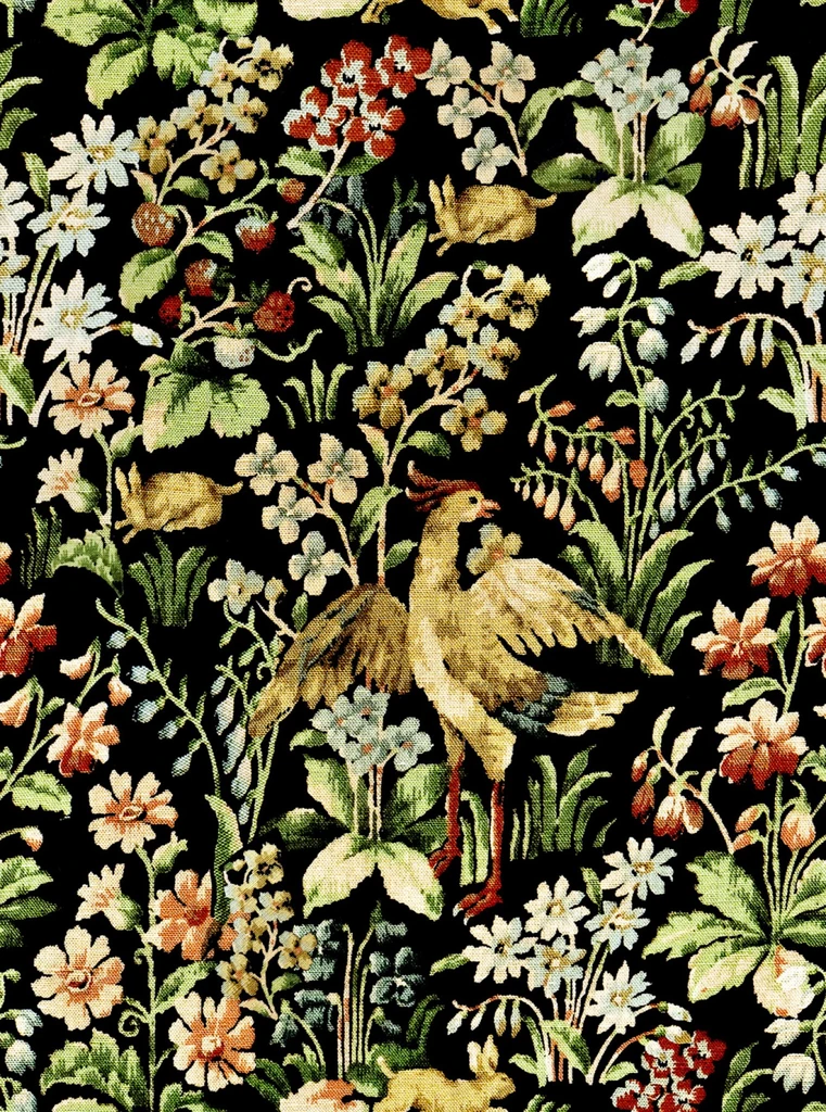 Floral Tapestry Wallpaper in Multi from the Eclectic
