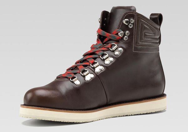 Gucci Leather Hiking Boots | Leather