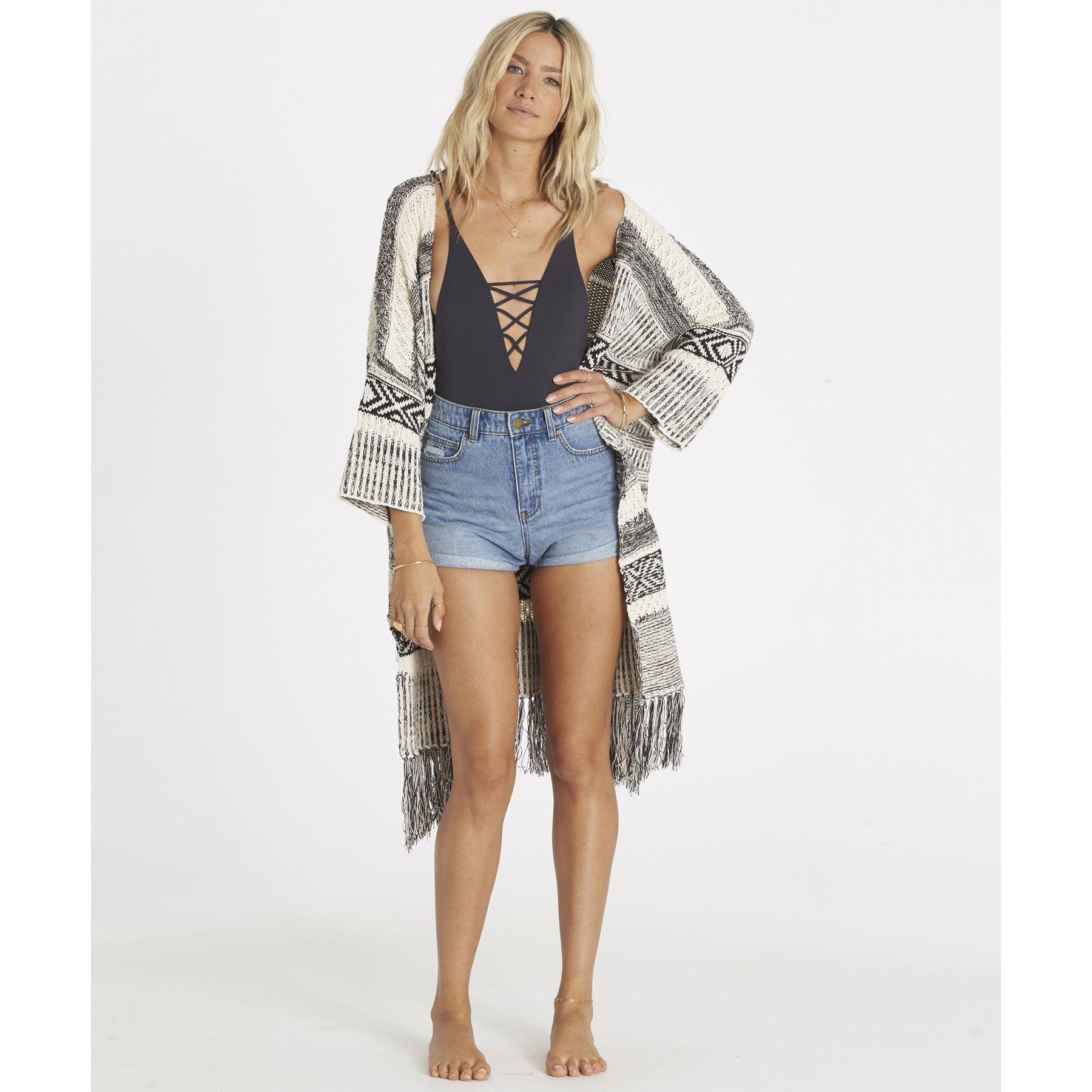 An outdoorready cardigan to suit your wandering soul
