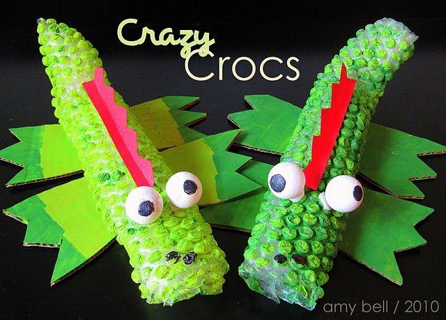 bubble wrap crocs
