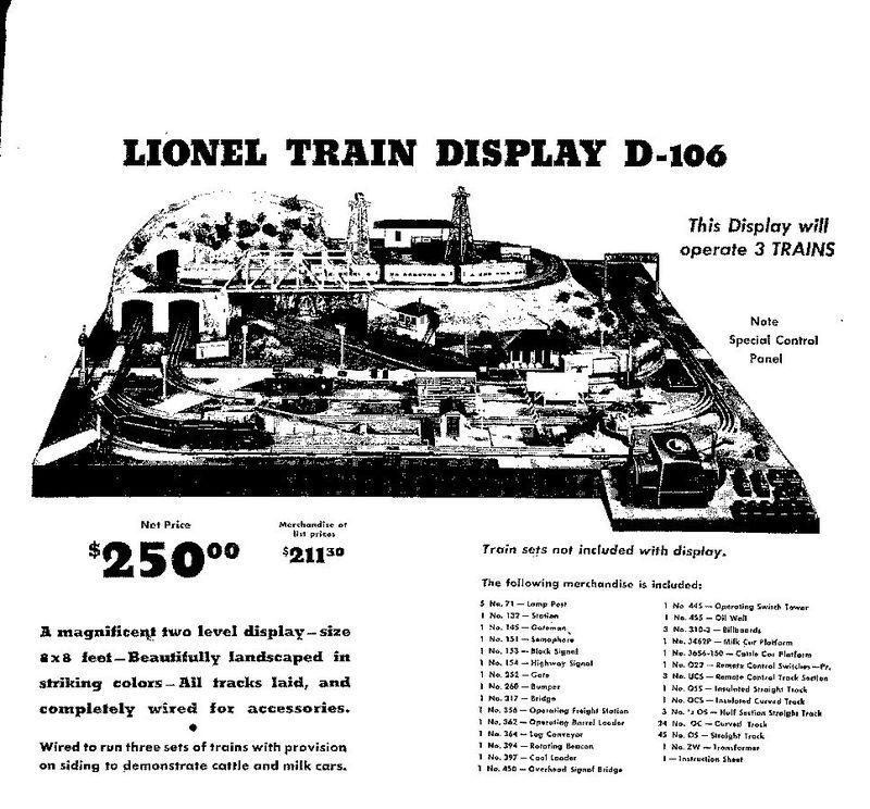 D 106 ad mr lionel american flyer pinterest layouts train d 106 ad cheapraybanclubmaster Gallery