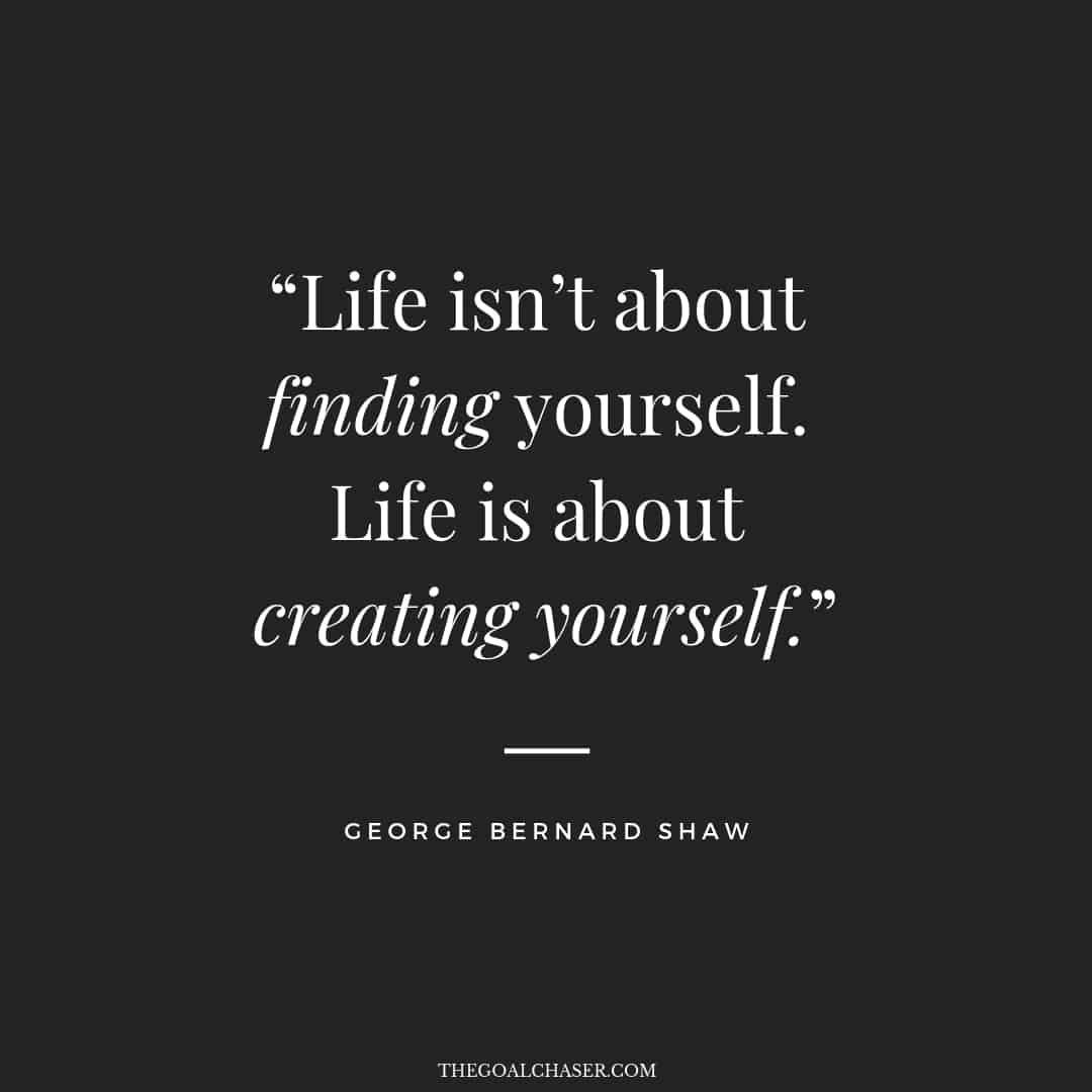 Creat Yourself Inspirational Quote Inspiration Motivation Very Short Quotes Best Short Quotes Life Is Too Short Quotes