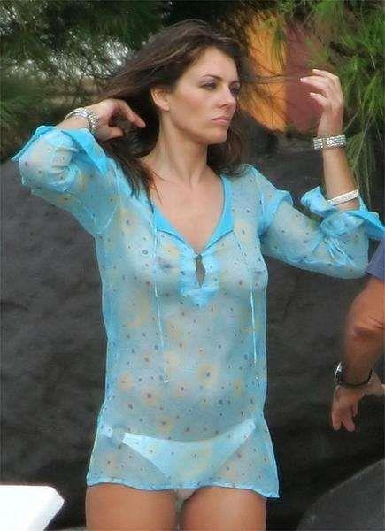 Elizabeth Hurley Escena de desnudos de