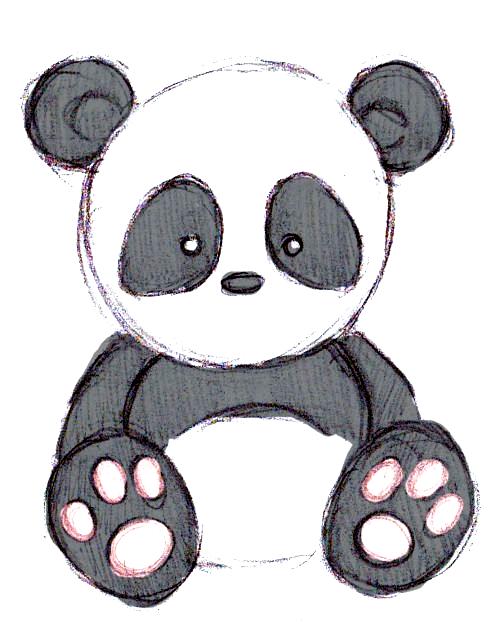 Pandas Drawings Google Search Gladys In 2020 Panda Drawing Cute Panda Drawing Panda Art