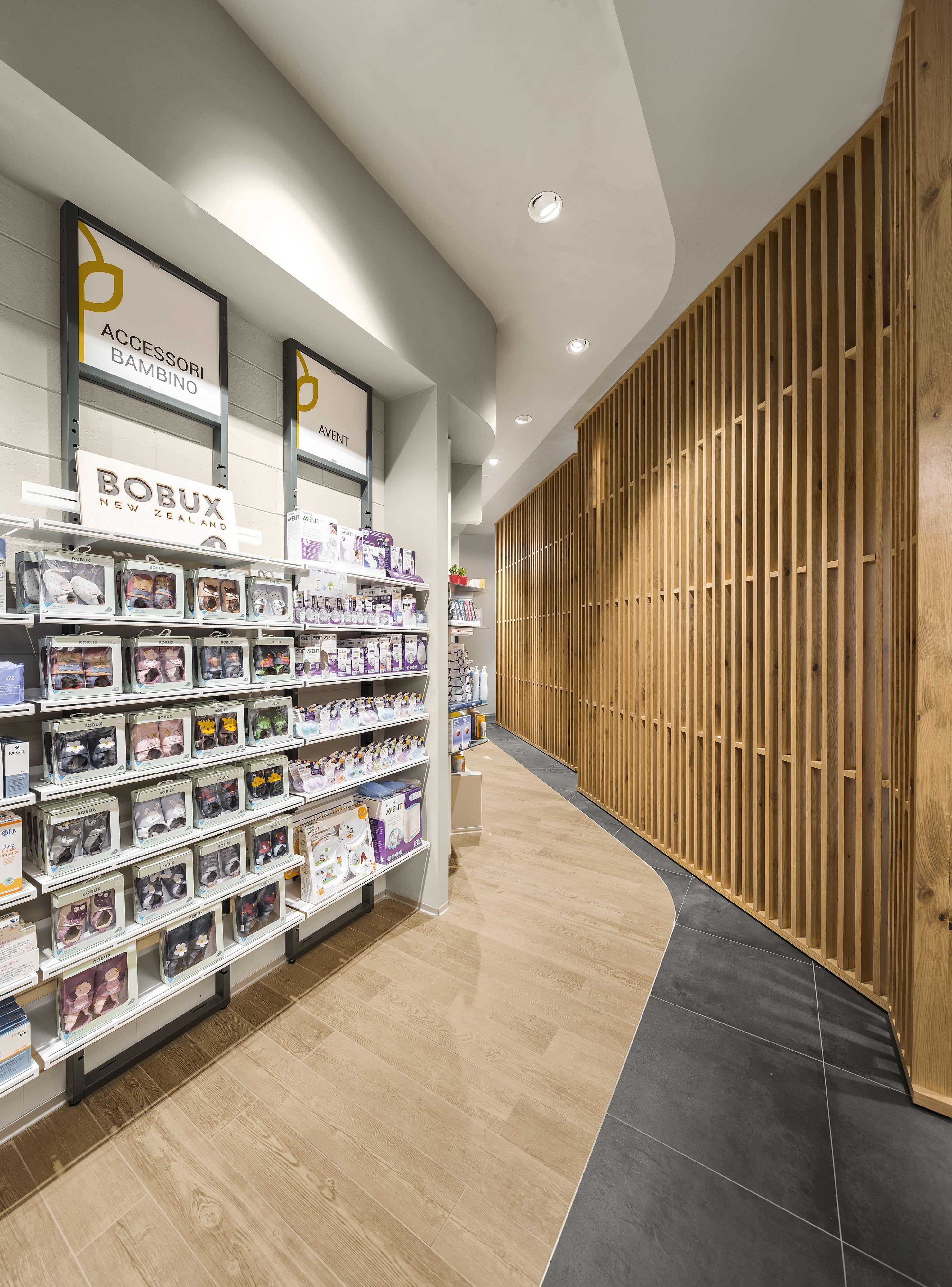 farmacia riva by amlab pharmacy design retail design store design pharmacy shelving - Pharmacy Design Ideas