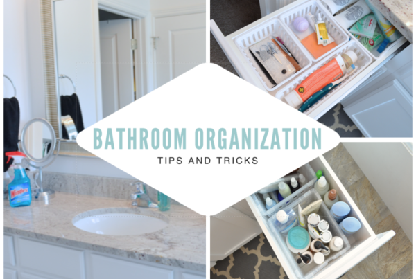 Bathroom Organization Tips and Tricks
