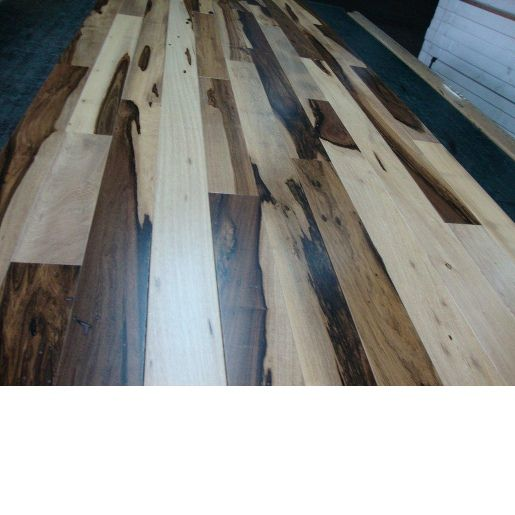 Brazilian Hickory Macchiato Pecan 5 8 X 3 1 7 Clear Smooth Prefinished Flooring