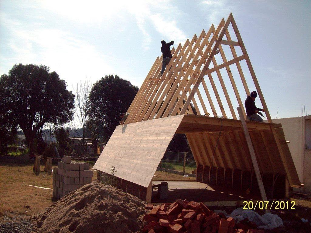 CABAÑA MADERA ALPINA | For the Home | Pinterest | Haus bauen, Trikot ...