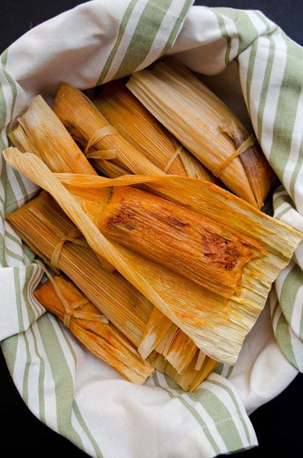 Red Chile Jackfruit Tamales From Vegan Tamales Unwrapped