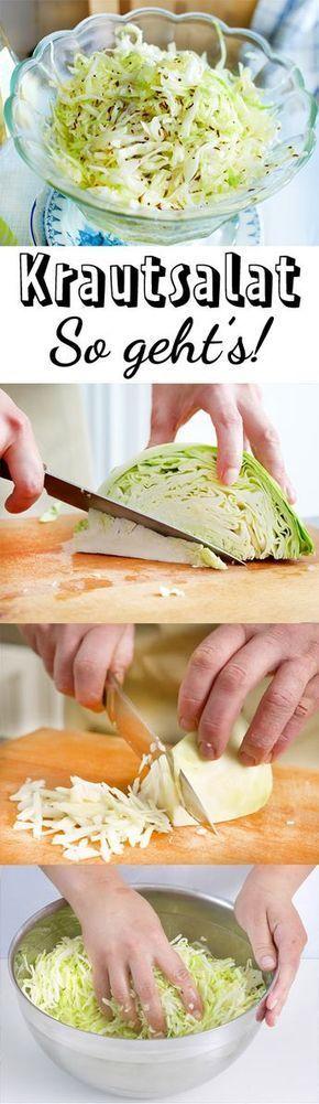 Krautsalat – das einfache Grundreze