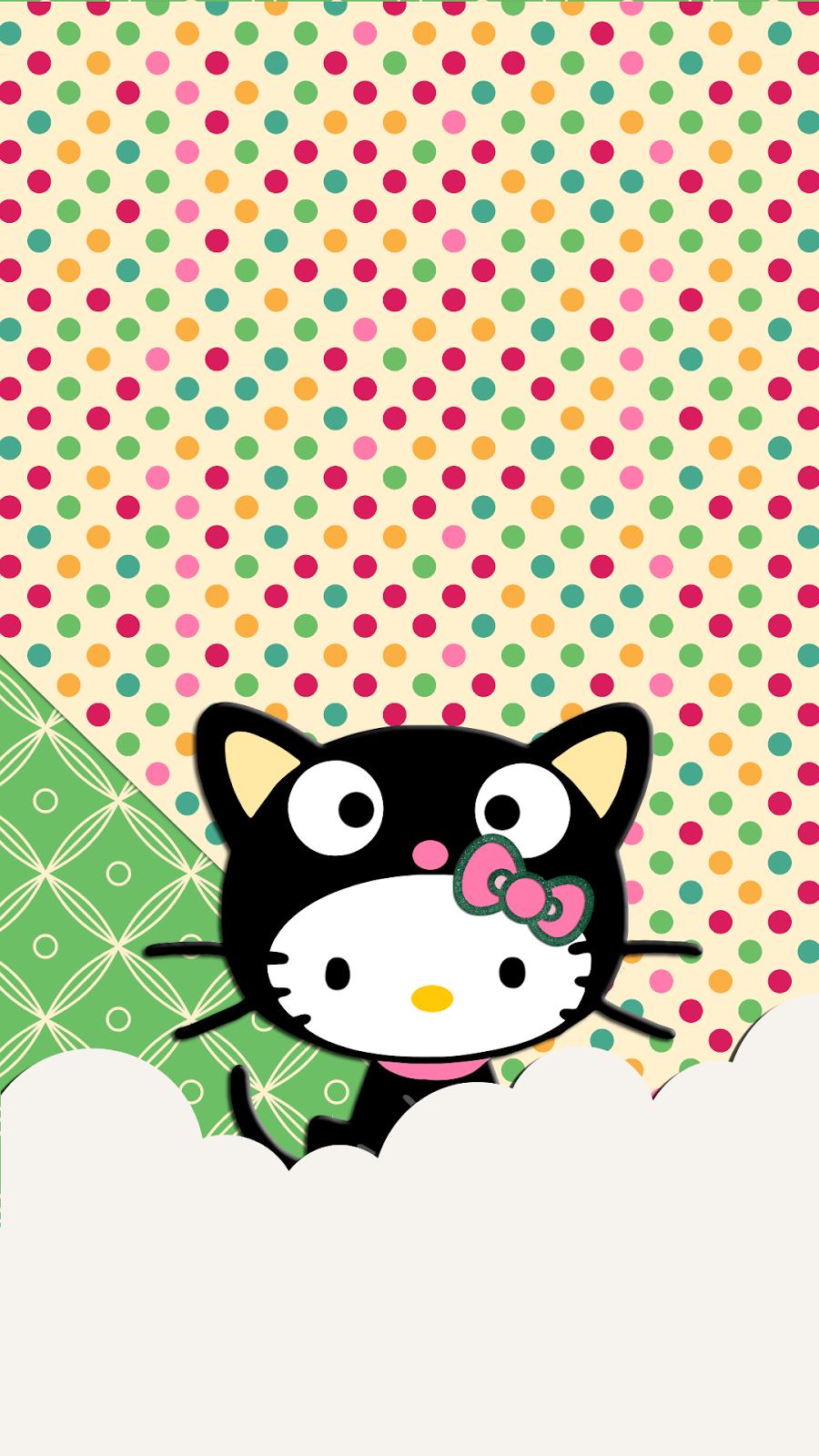 Hello Kitty As Choco Cat Wallpaper Wallpaper Love Pinterest