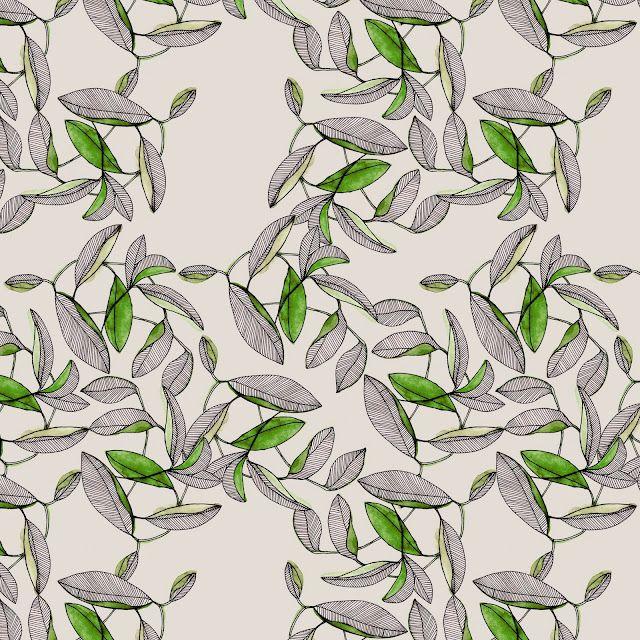 Spring Watercolor Pattern - Marina Molares