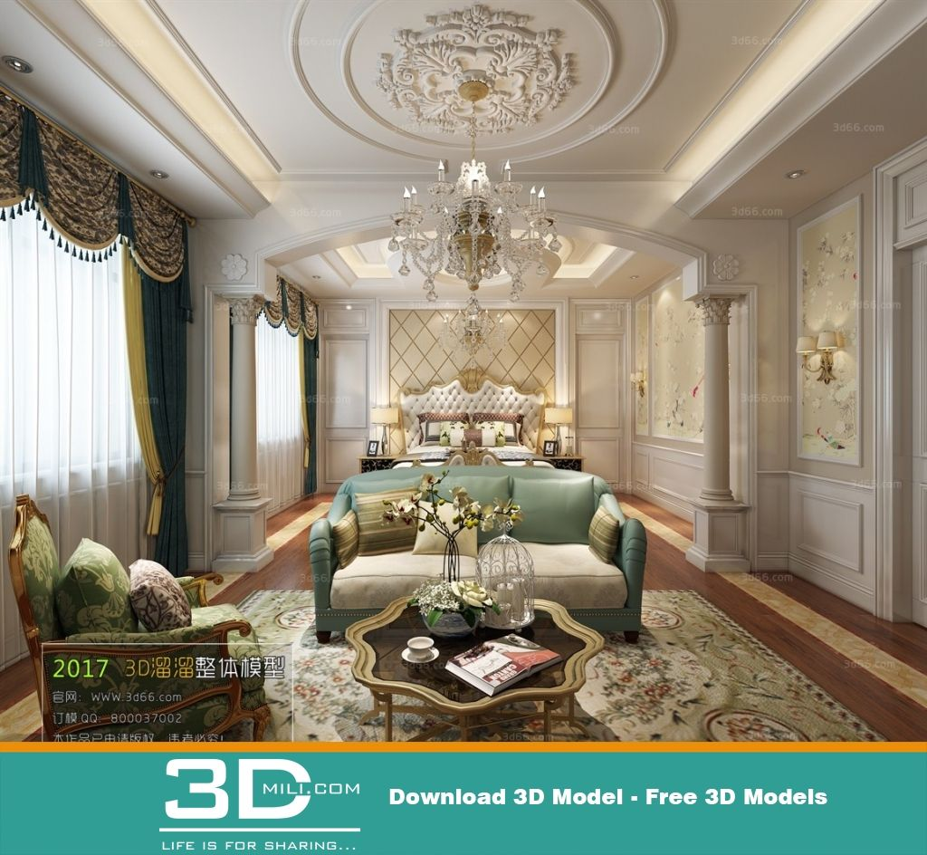 46 Bed Room Hotel 3dsmax File Free Download With Images Hotels