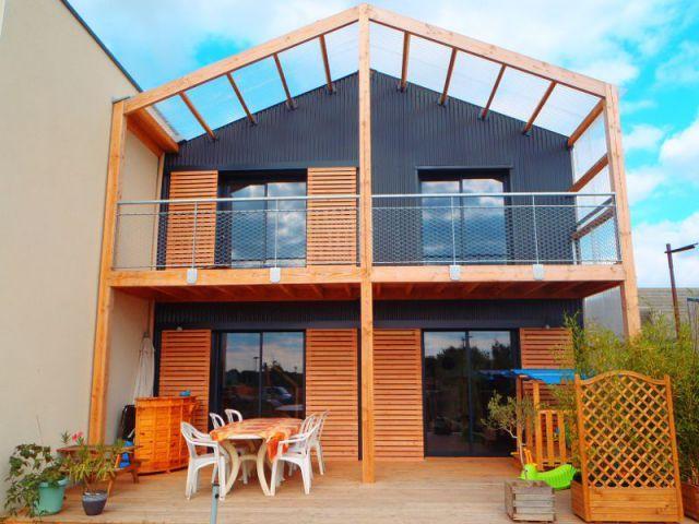 Une maison du0027architecte montée en cinq mois Construction and D