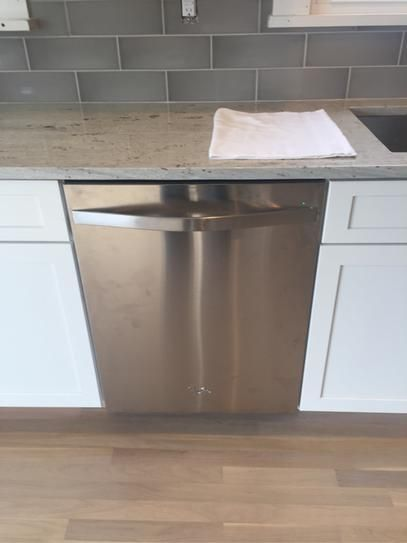 monochromatic stainless steel. Whirlpool Top Control Dishwasher In Monochromatic Stainless Steel With Tub, Sensor Cycle, 48 DBA WDT780SAEM At The Home Depot - Mob\u2026