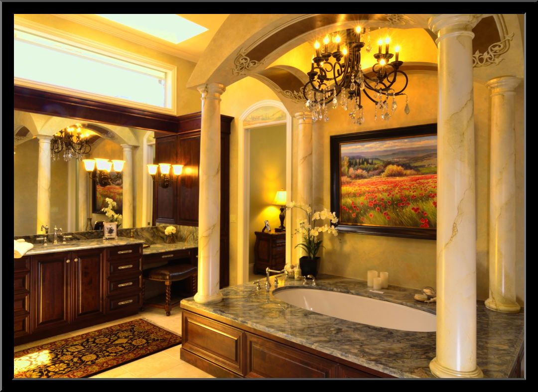 Tuscan Style Bathroom Designs Amusing Tuscan Master Bathroom Ideas Httpwwwsmallbathroomsclubwp Decorating Inspiration