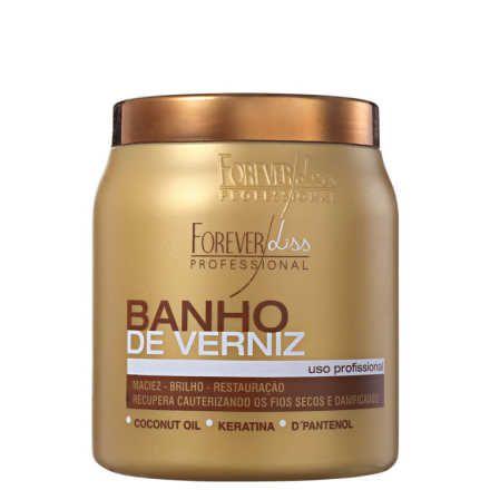 Forever Liss Professional Banho De Verniz Mascara 1000g Banho