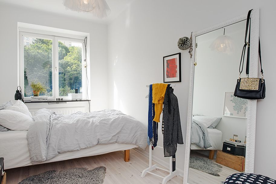 Swedish Bedroom Design fun and fabulous renovated 1930s apartment | contemporary interior