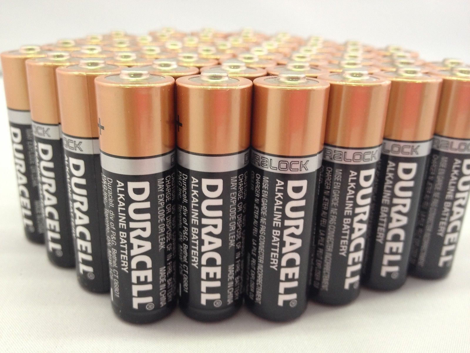 20 Pack of Duracell MN1500 AA 1.5V Alkaline Coppertop ...