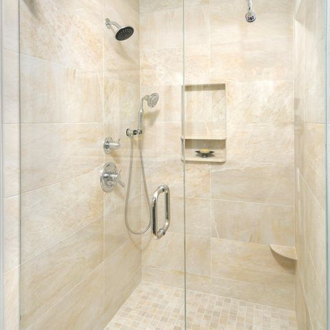 Shower Foot Rest Design Ideas Pictures Remodel And Decor