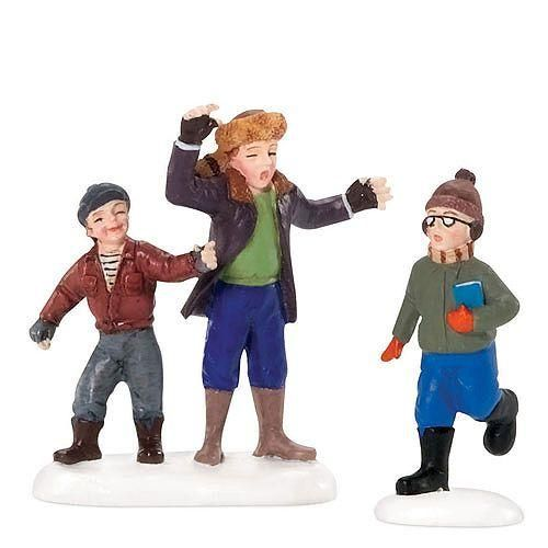 Christmas Story Bumpus Hounds Quote: Dept 56 Scut Farkus And His Toadie