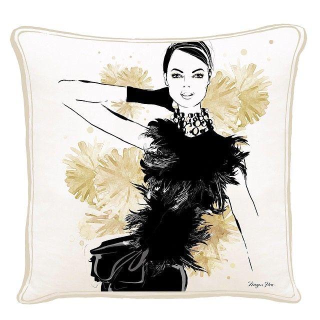 Megan Hess Fashion Pillow