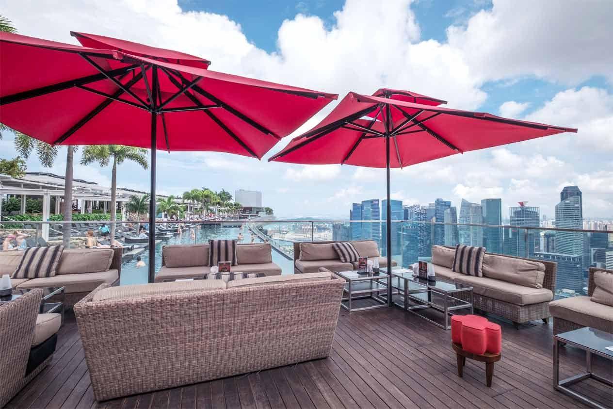 Ce La Vi Club Lounge Nightclub Marina Bay Sands Lounge