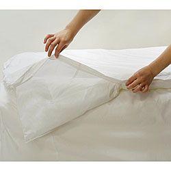 Bed Bug Dust Mite Allergy Relief 86x86 Inch Comforter