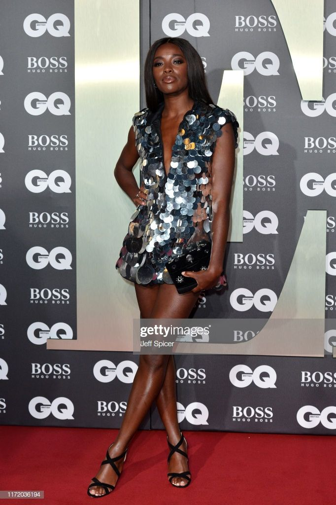 AJ Odudu attends the GQ Men Of The Year Awards 2019 at