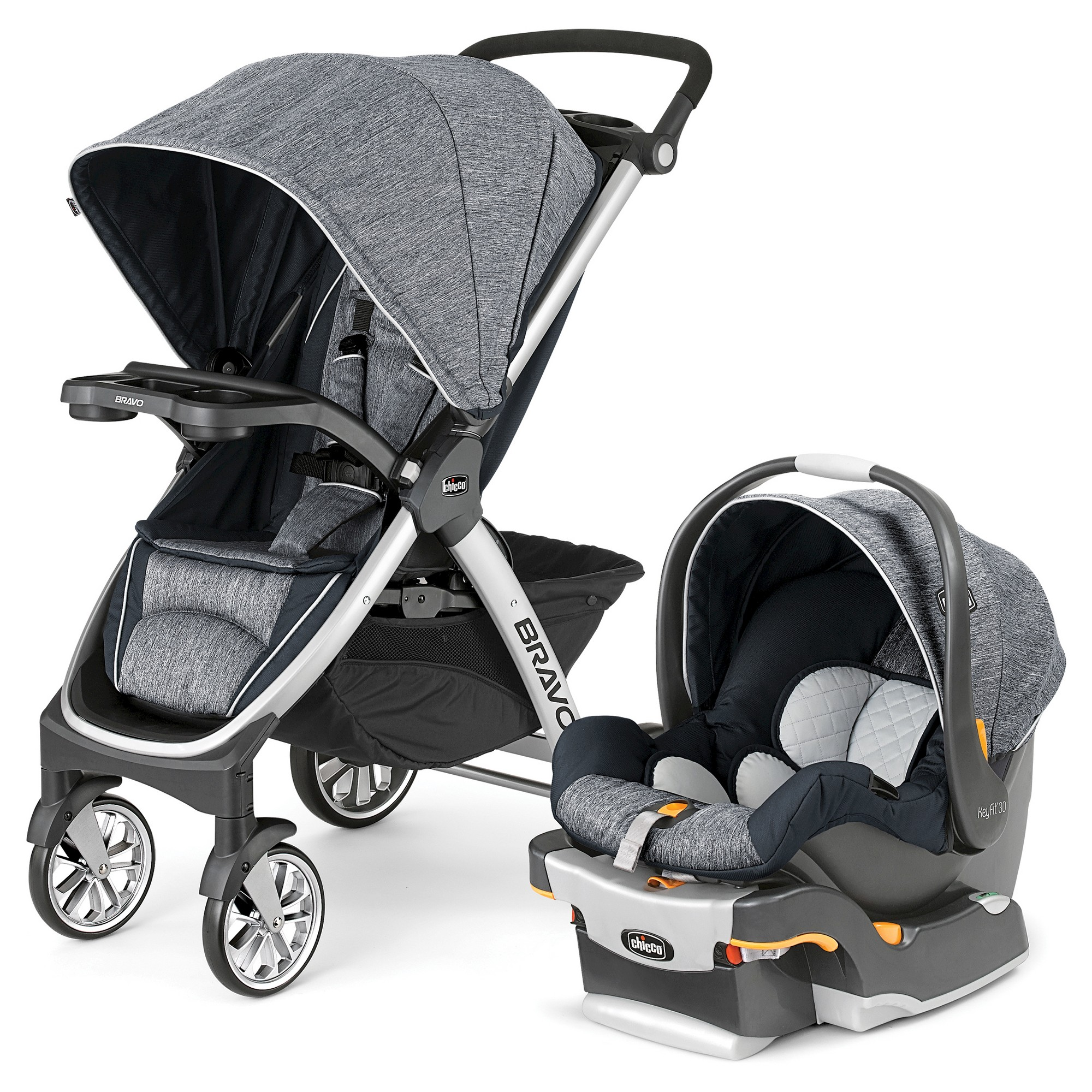 Chicco Kinderwagen 3 In 1 Chicco Bravo Travel System Indigo Blue Products Baby