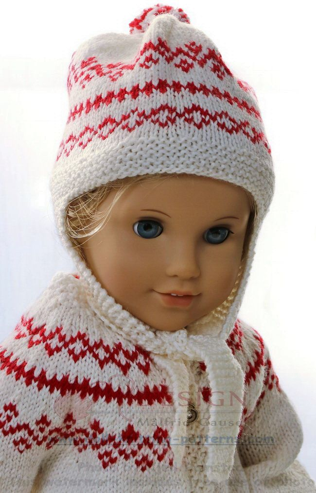 Knitting Pattern For Dolls Clothes Maalfrid Gausel Knitting