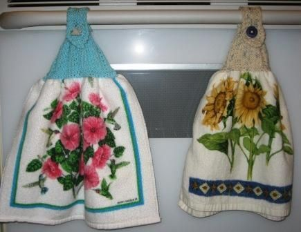 Easy Knit Dish Towel Topper Towels Easy And Patterns