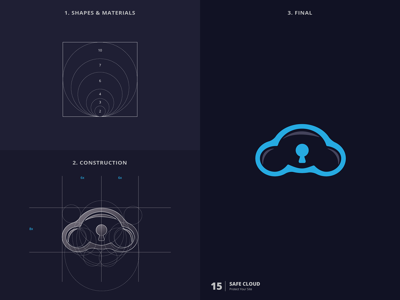 Poster design golden ratio - Logo Collection With Golden Ratio 2016 On Behance