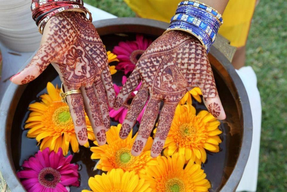 Bridal Henna Design for Seena.