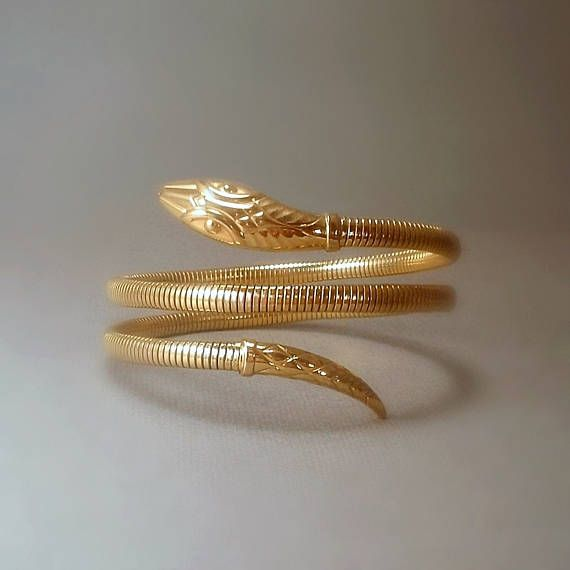 Wonderful Example of Snake Jewelry Great Bangle Circa 1920 Antique Celluloid Snake Bracelet Look!