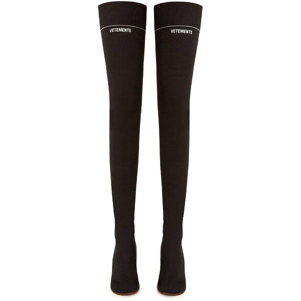 Vetements The Knee Lighter Boots Heel Over Sock rB1qrnwTa