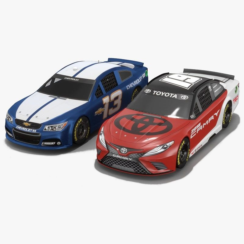 Pin on NASCAR 3D models