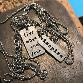 Handmade inspirational jewelry for runners, weightlifters, and CrossFit athletes. #inspirational #jewelry #mothersday #fitness #workout #necklace #charm #strongwomen #crossfit #women #girls #gym #handmade #fashletics