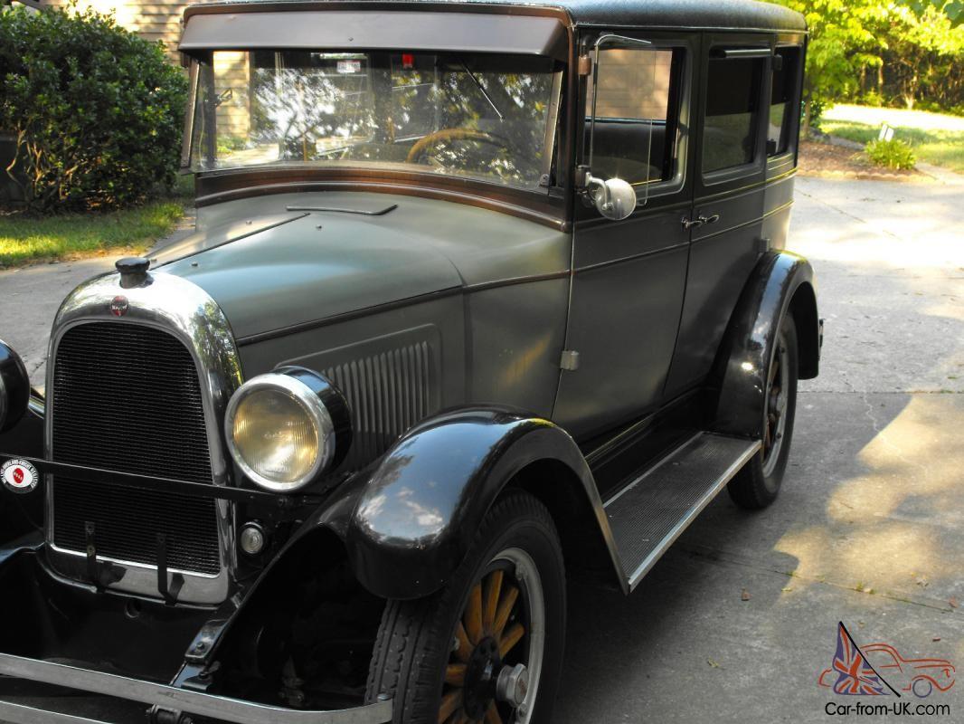 1928 Willys Whippet 96 Touring Sedan 4 Door For Sale Whippet