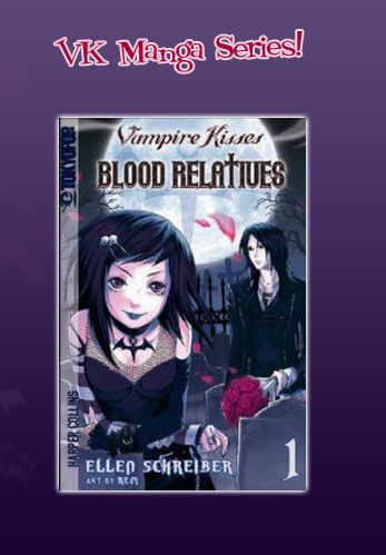 Vampire Kisses Blood Relatives Manga 1