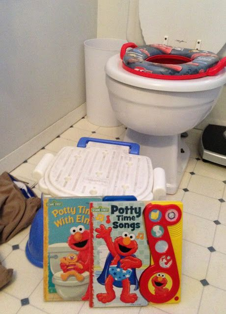 Potty Training Boot Camp: Training a toddler in a week!