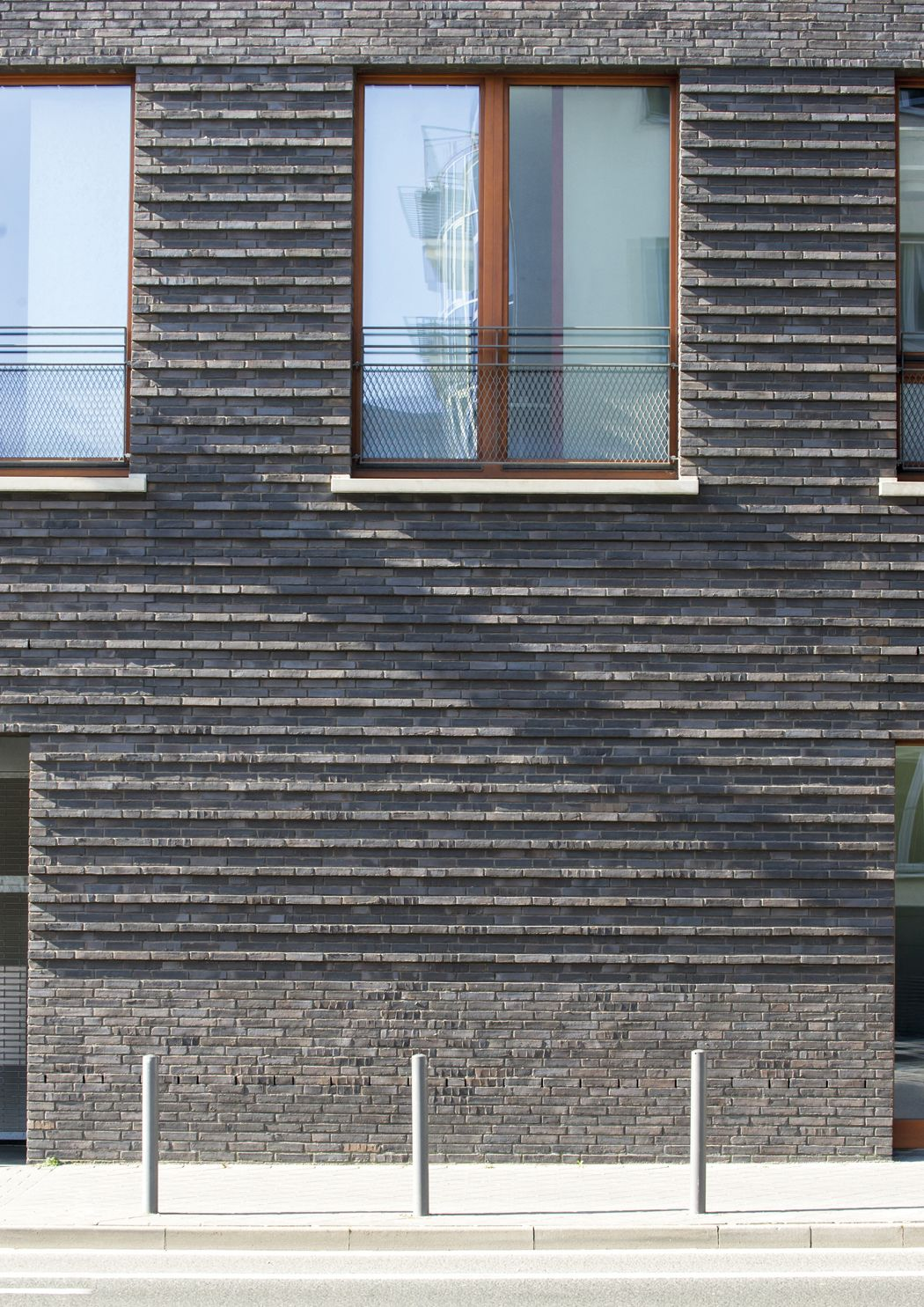 Gemeindezentrum im Westhafenviertel Bauen mit Backstein 04 21 13 BRICK Ziegel design  ~ 18031254_Backstein Mauerwerk Brandschutz