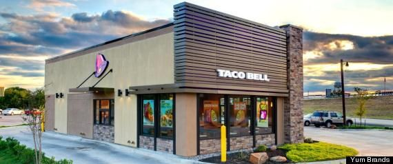 Fast Food Building Designs Mesmerizing New Taco Bell Locations To Glow In Dark Cost Less To Build  Taco . Inspiration Design