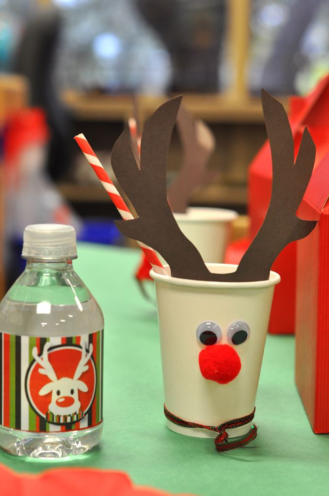 The Party Wall Rudolph-themed Christmas Party Party Ideas