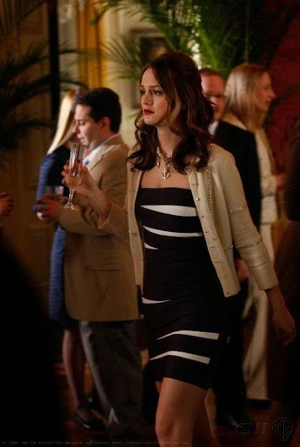 Blair Waldorf dress: Herve Leger