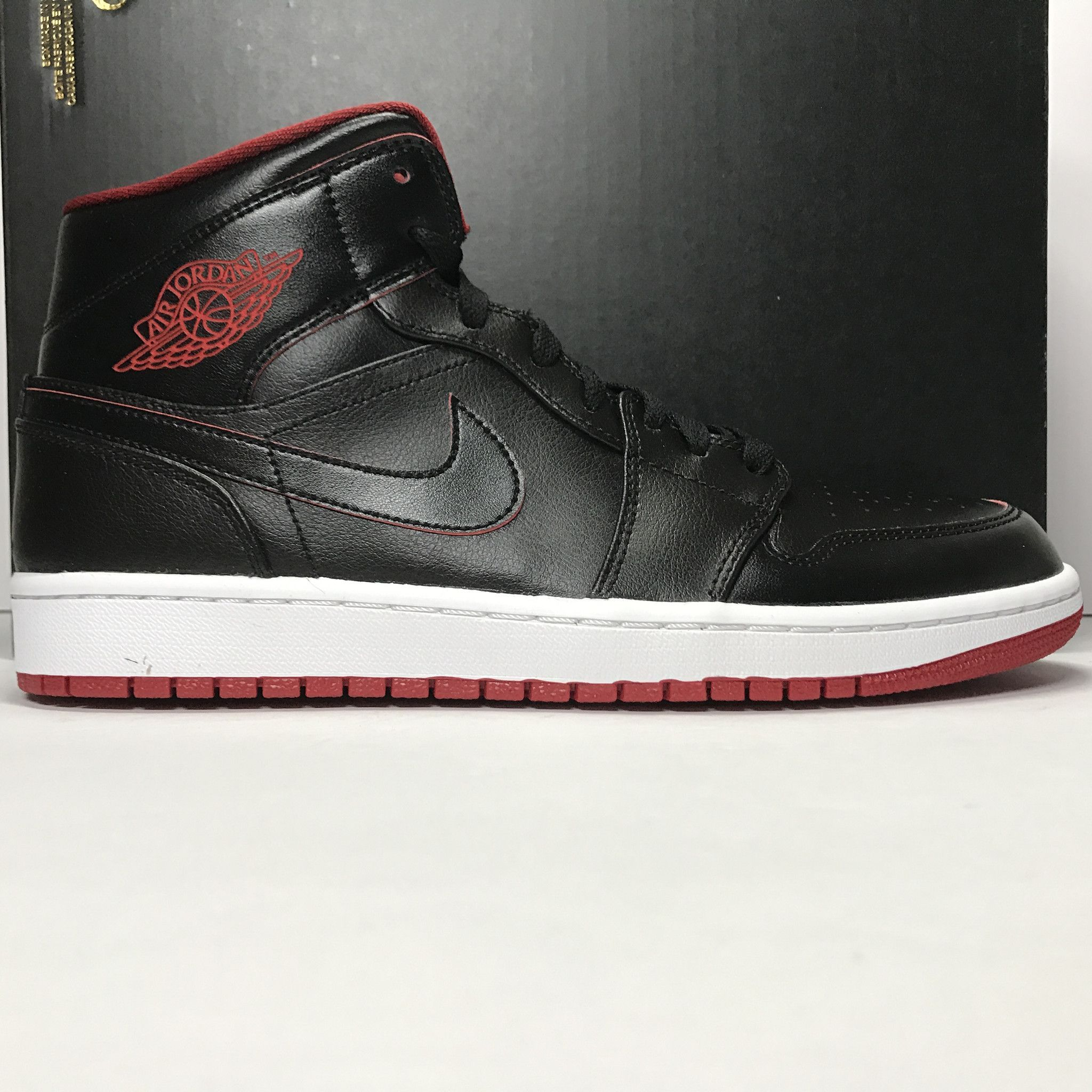 DS Nike Air Jordan 1 I Mid Lance Mountain Black/Red Size 8.5/Size