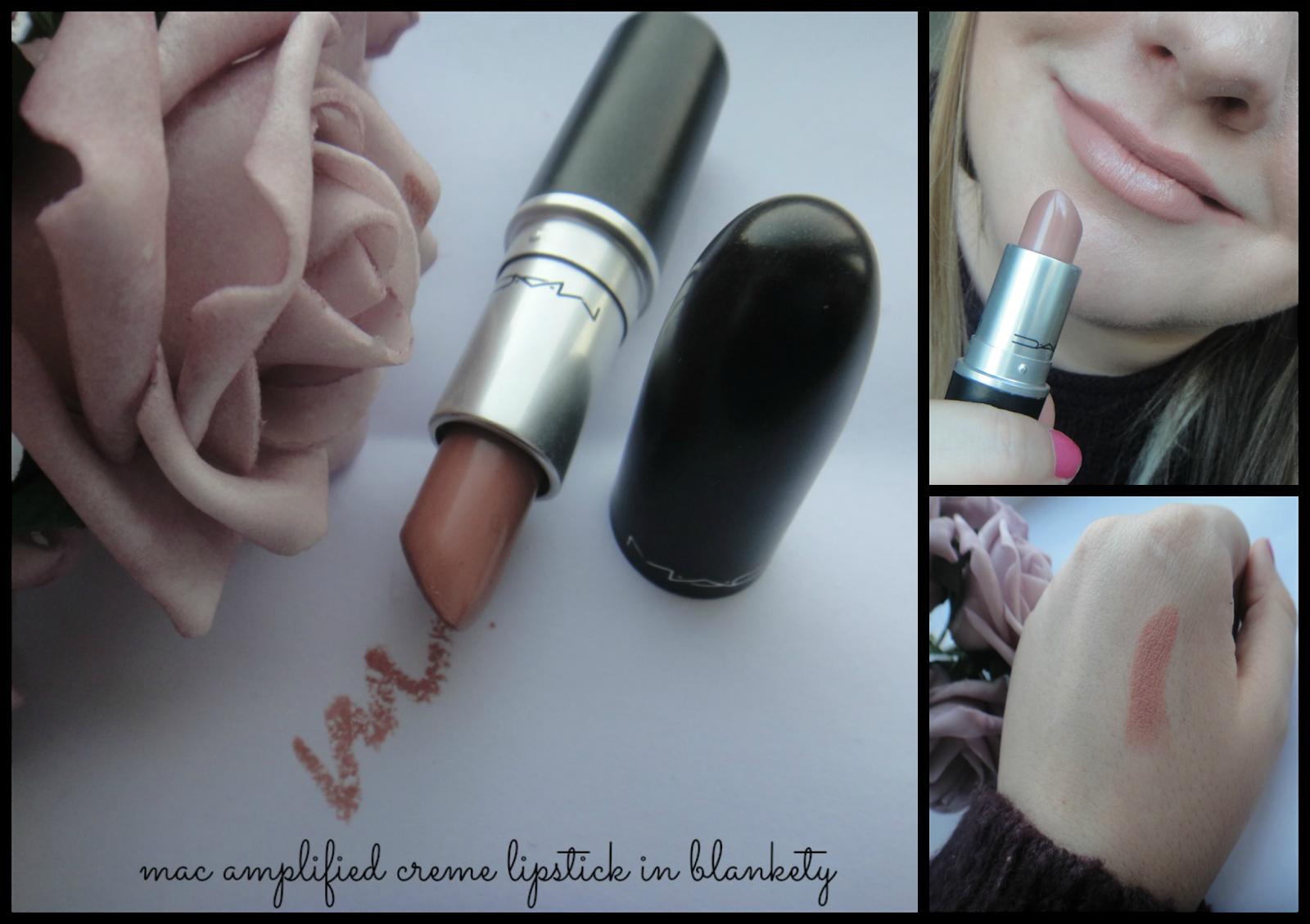 Emily & Han xo: Mac Amplified Creme Lipstick in Blankety ...