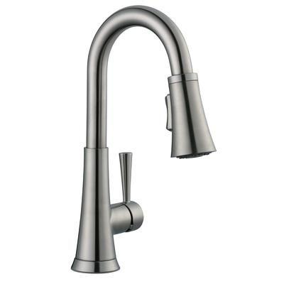 Glacier Bay - 925 Series Bar Faucet In Brushed Nickel - 67156-1004 ...