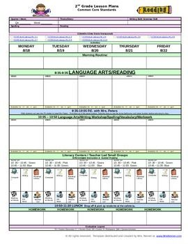 Lesson plan template with common core standards you will love lesson plan template with common core standards you will love this colorful user pronofoot35fo Gallery